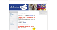 Preview of cheltenhamartclub.co.uk